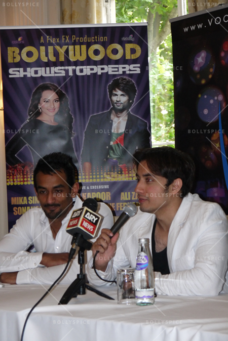 14jun alizafarshowstoppers 06 Bollywood Showstoppers Press Conference with Ali Zafar