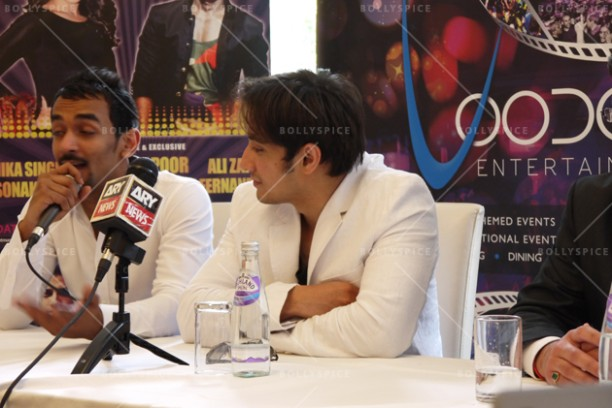 14jun alizafarshowstoppers 07 612x408 Bollywood Showstoppers Press Conference with Ali Zafar