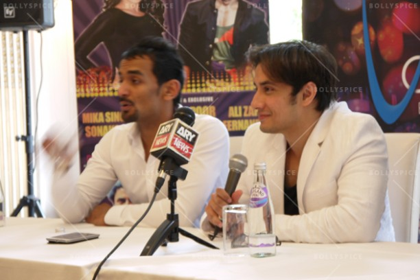 14jun alizafarshowstoppers 08 612x408 Bollywood Showstoppers Press Conference with Ali Zafar