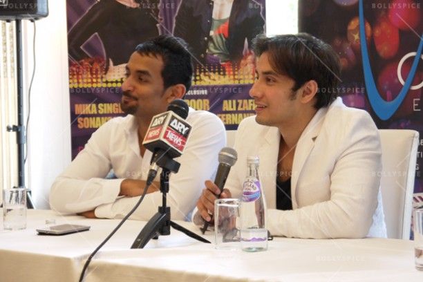 14jun alizafarshowstoppers 09 612x408 Bollywood Showstoppers Press Conference with Ali Zafar