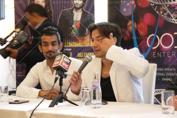 14jun alizafarshowstoppers 10 612x408 Bollywood Showstoppers Press Conference with Ali Zafar
