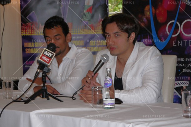 14jun alizafarshowstoppers 12 612x408 Bollywood Showstoppers Press Conference with Ali Zafar