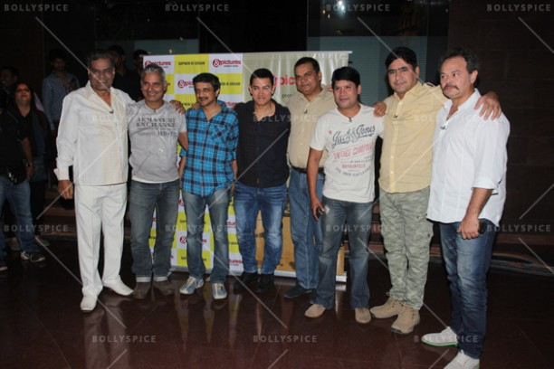 14jun chalechalo 03 612x408 Aamir Khan watched 'Chale Chalo' on &pictures LIVE with viewers in India