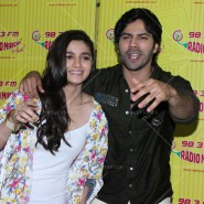 14jun hskdradiomirchi 07 185x185 In Pictures: Varun Dhawan & Alia Bhatt promoting Humpty Sharma Ki Dulhaniya at Radio Mirchi