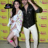 14jun hskdradiomirchi 17 185x185 In Pictures: Varun Dhawan & Alia Bhatt promoting Humpty Sharma Ki Dulhaniya at Radio Mirchi