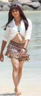 14jun riteshskirt Ritiesh Deshmukh wore Genelia's skirt in Humshakals!