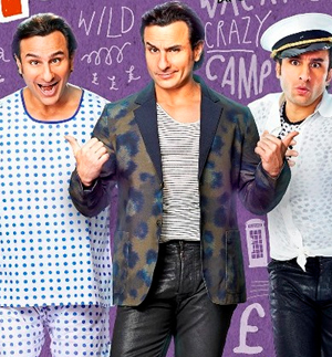 14jun saifinterview 01 Saif Ali Khan: Humshakals is a crazy Sajid Khan comedy kind of film.