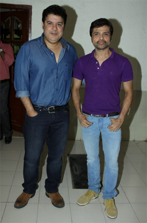 14jun sajidhimesh When Himesh Reshammiya and Sajid Khan came together to work for Humshakals