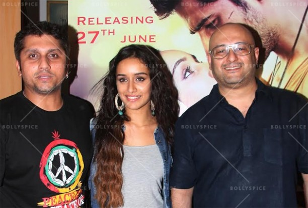 14jun shraddhabgscore 04 612x413 Now Shraddha Kapoor lends her voice to the Ek Villain background score