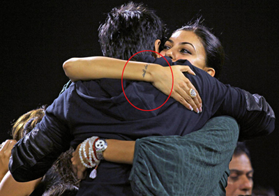 14jun tattoos sushmita1 Sonakshi Sinha and other inked female B'wood celebs!