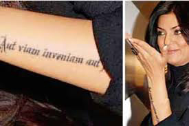 14jun tattoos sushmita2 Sonakshi Sinha and other inked female B'wood celebs!