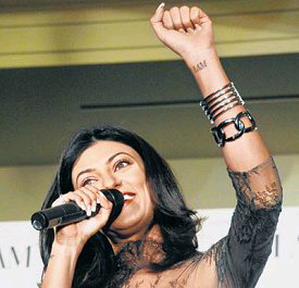 14jun tattoos sushmita3 Sonakshi Sinha and other inked female B'wood celebs!