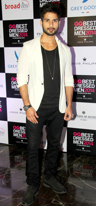 14jun whwngq shahid Whos Hot Whos Not: GQ best dressed male