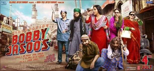 BJ Poster Landscape 1 612x284 Bobby Jasoos First Song   Jashn!