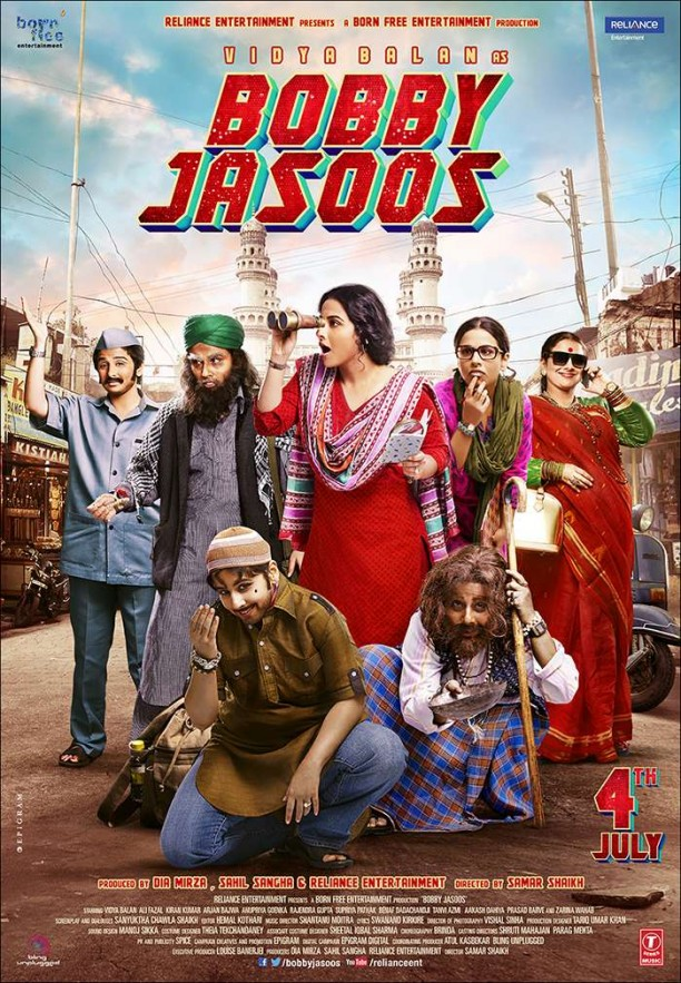BJ Poster Verticle 1 612x883 Bobby Jasoos First Song   Jashn!