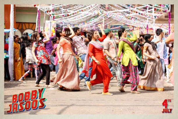Bobby Jasoos Film Still 04 612x408 Bobby Jasoos First Song   Jashn!