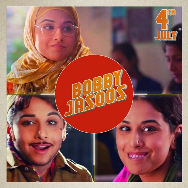 Bobby Jasoos Film Still 2 612x612 Bobby Jasoos First Song   Jashn!