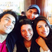 DDDlocationpics10 185x185 On Location with Priyanka Chopra, the cast and crew of Dil Dhadakne Do
