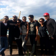 DDDlocationpics9 185x185 On Location with Priyanka Chopra, the cast and crew of Dil Dhadakne Do