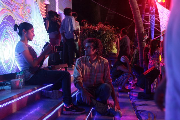 Imtiaz Ali on the sets of LHDD 612x408 Imitiaz Ali visits Lekar Hum Deewana Dil gives Armaan pep talk on acting!!