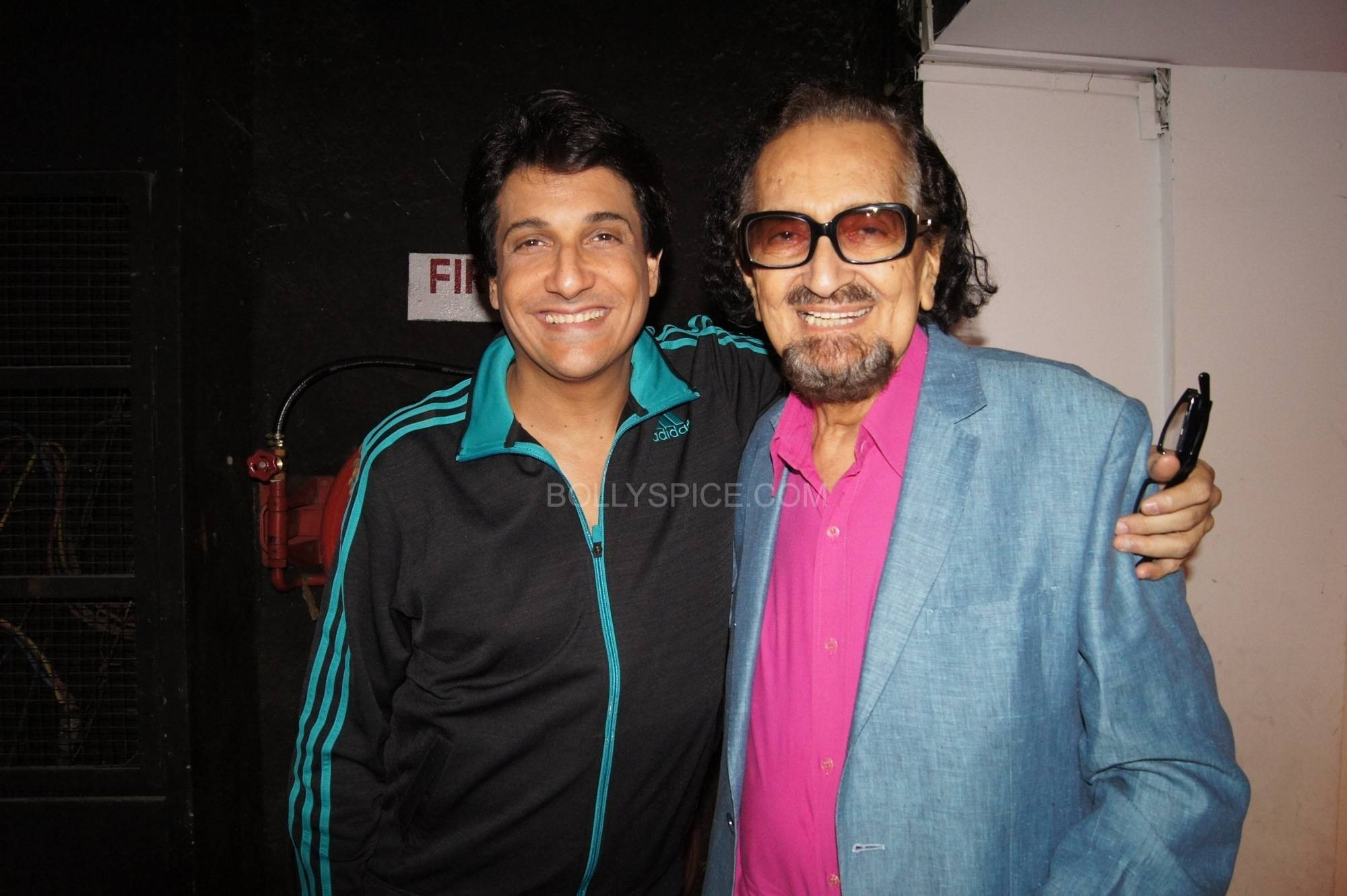 Shiamak with Alyque Padamsee Bollywood Stars Applaud Shiamaks Contemporary Dance show Selcouth!