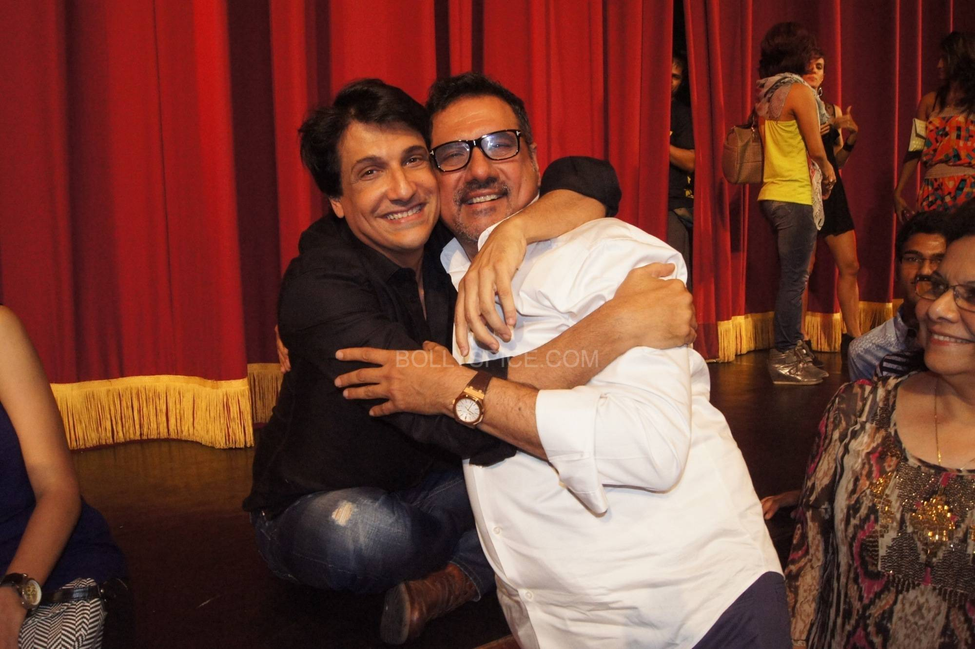 Shiamak with Boman Irani Bollywood Stars Applaud Shiamaks Contemporary Dance show Selcouth!