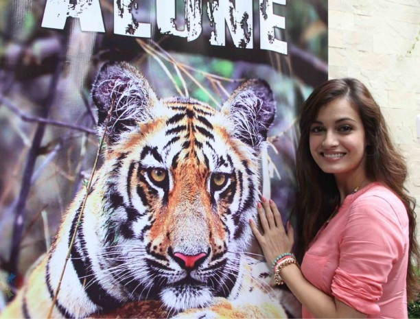 dia mirza 612x465 Dia Mirza's Support for Kids for Tigers Camp