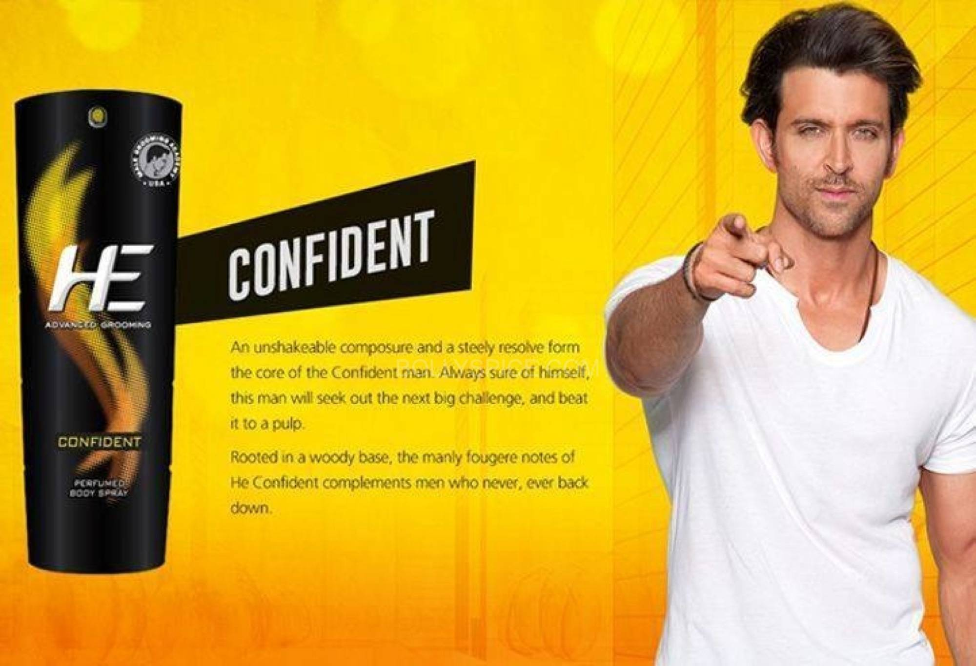 hrithikHE4 Hrithik turns Brand ambassador for He Deo
