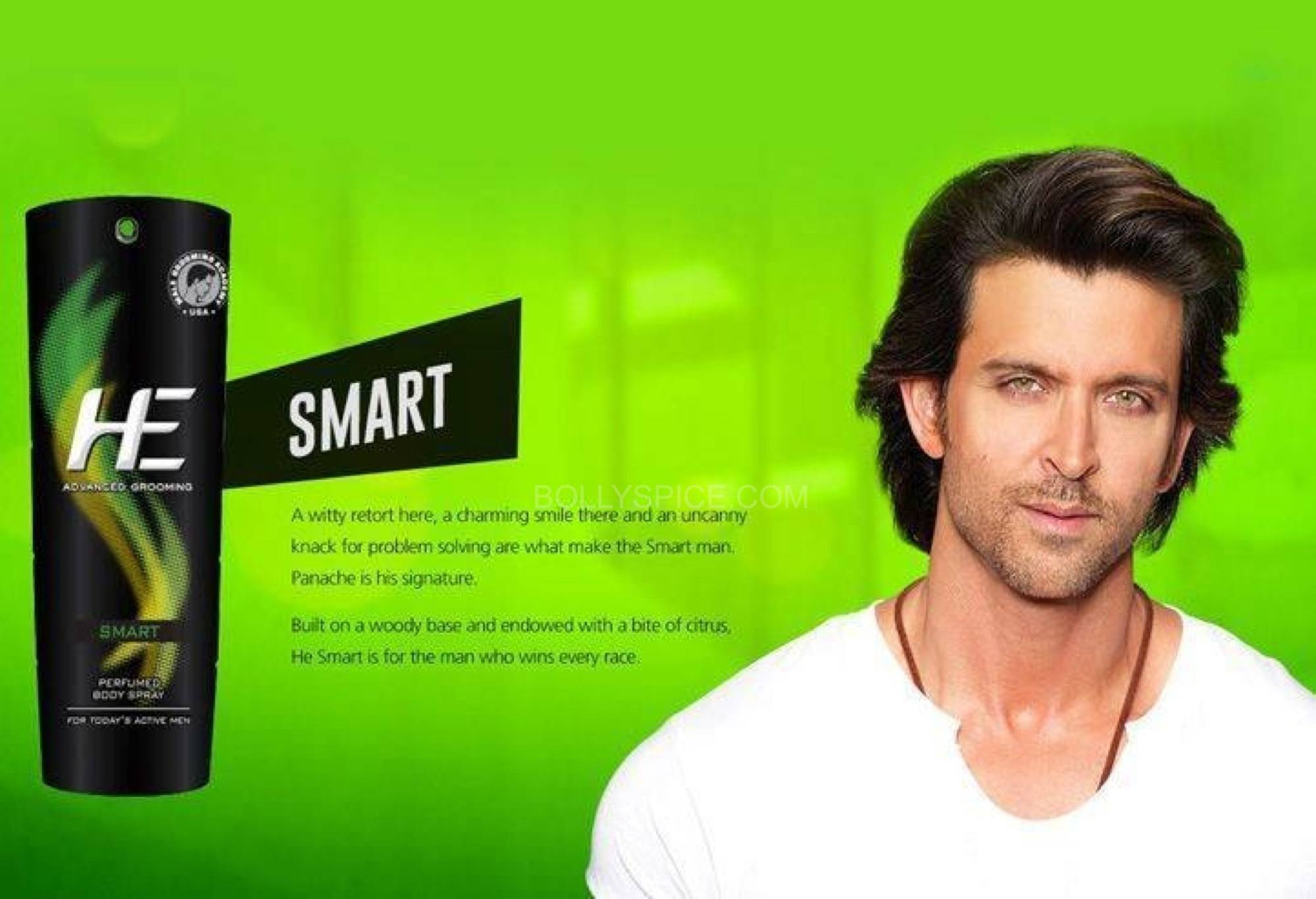 hrithikHE5 Hrithik turns Brand ambassador for He Deo