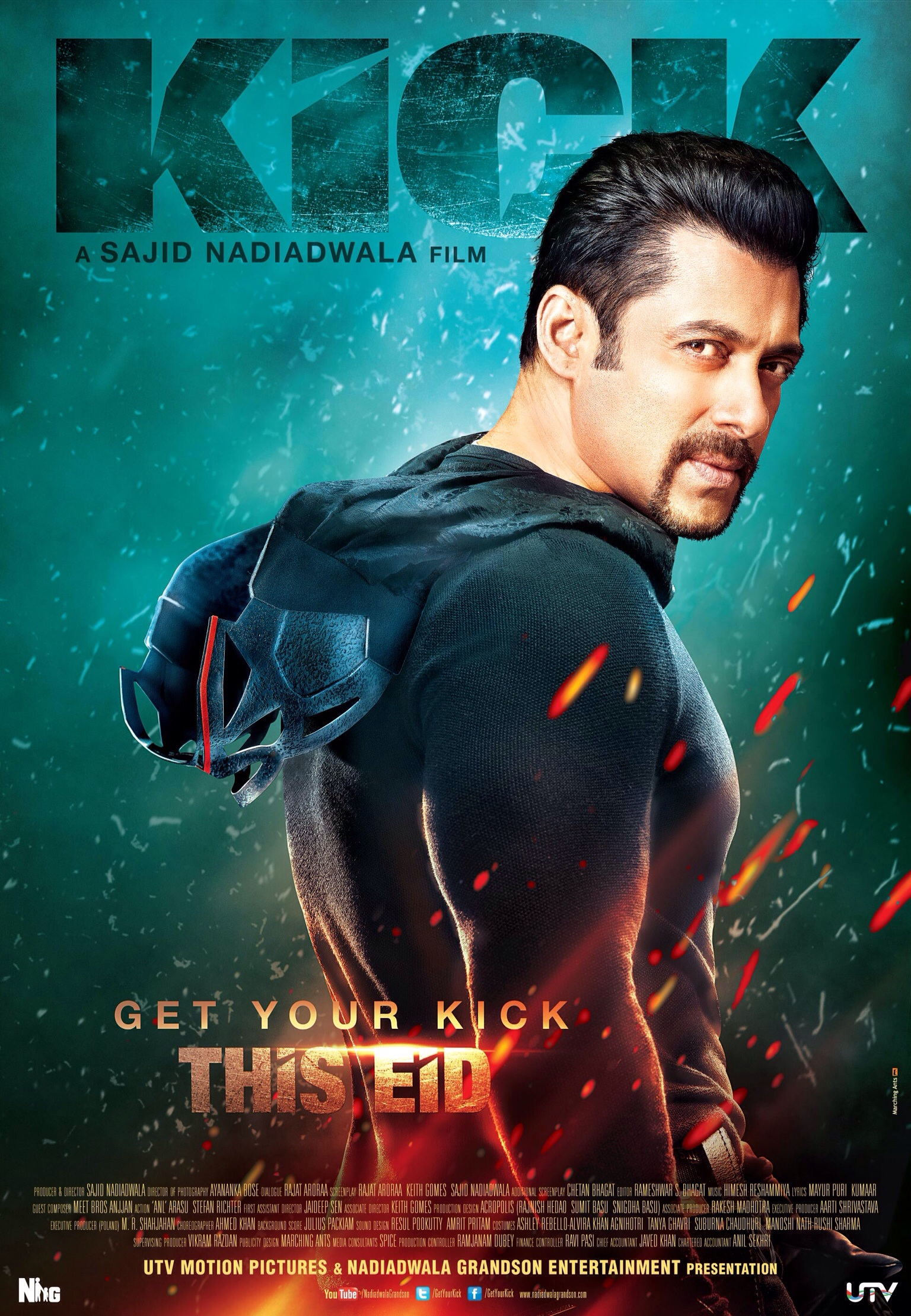 image Salman Khan and the action packed Kick trailer!