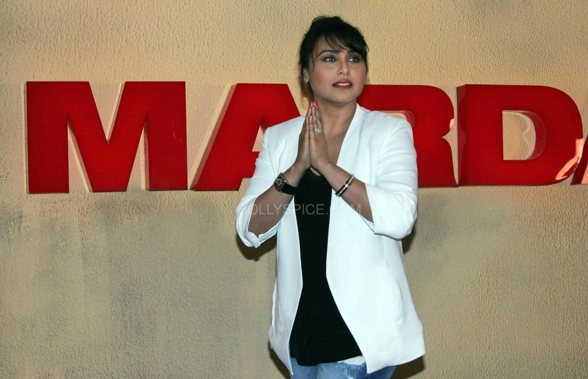 ranimardaanitrailerlaunch11 In Pictures: Rani at Mardaani Trailer Launch