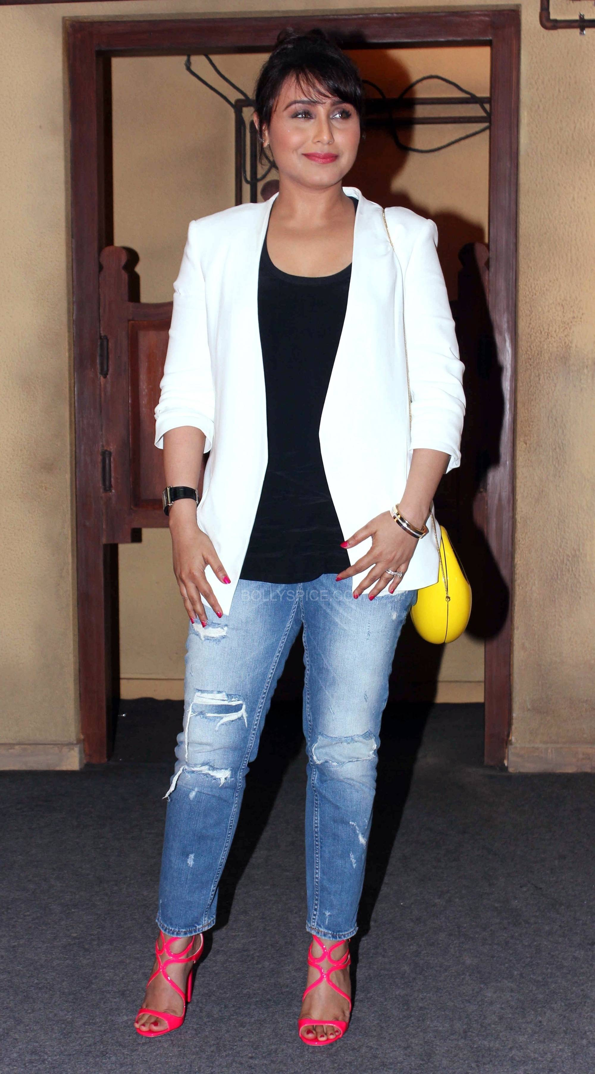 ranimardaanitrailerlaunch5 In Pictures: Rani at Mardaani Trailer Launch