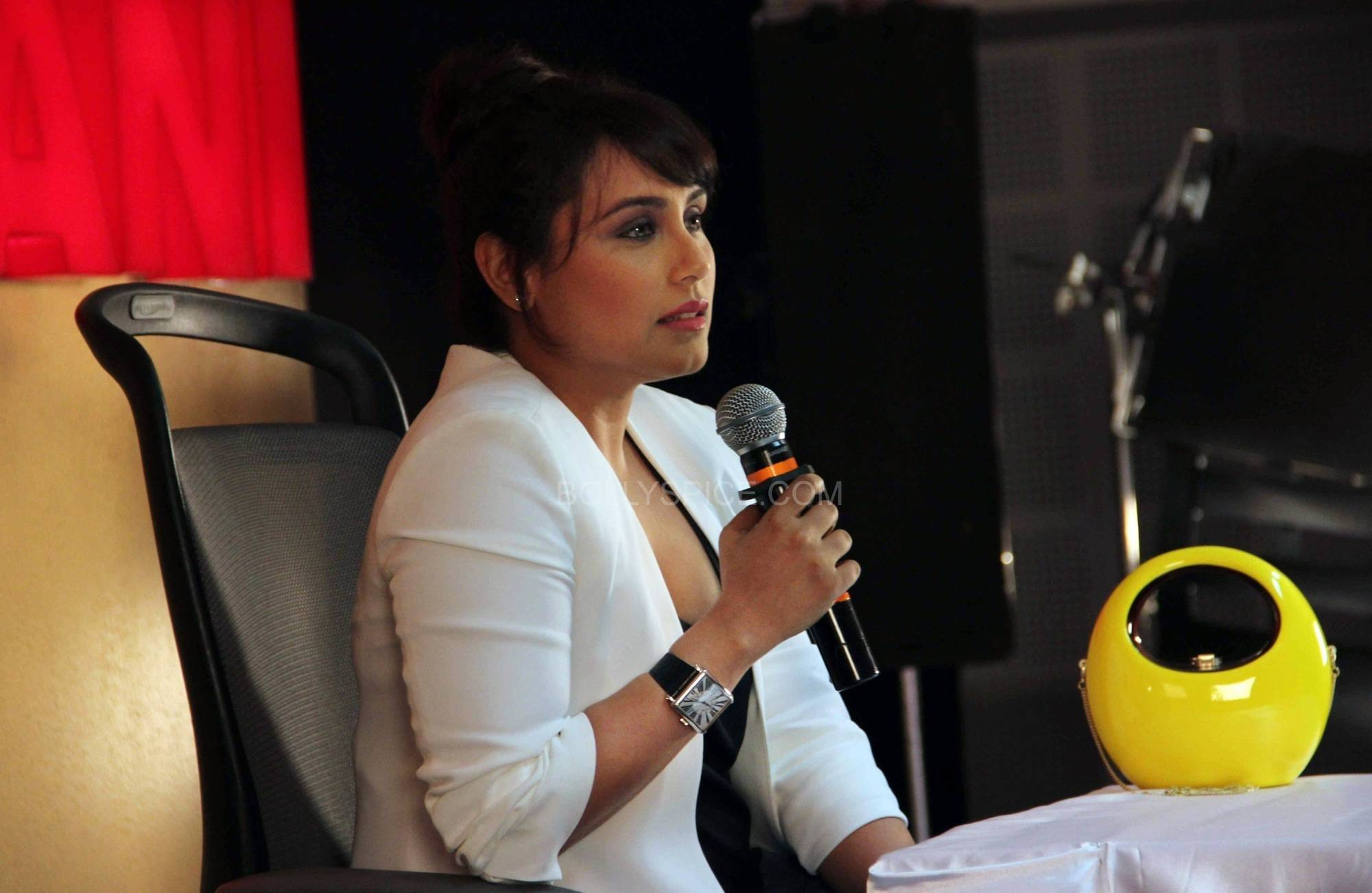 ranimardaanitrailerlaunch6 In Pictures: Rani at Mardaani Trailer Launch