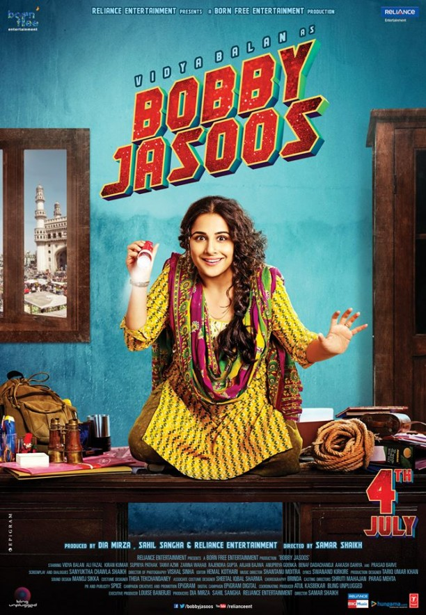 vidyabobbyjasoosnewposter 612x884 Bobby Jasoos Movie Review