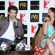 14jul DaawatEIshqMusicLaunch19 185x185 Pictures: Aditya Roy Kapoor and Parineeti Chopra launched Daawat e Ishq Music