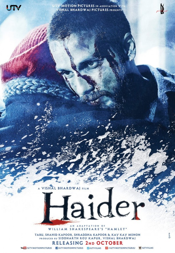 14jul Haider Poster01 612x885 Haiders First Official Trailer!!