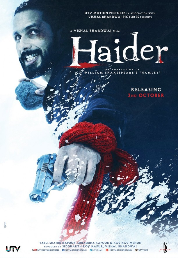 14jul Haider Poster02 612x885 Haiders First Official Trailer!!