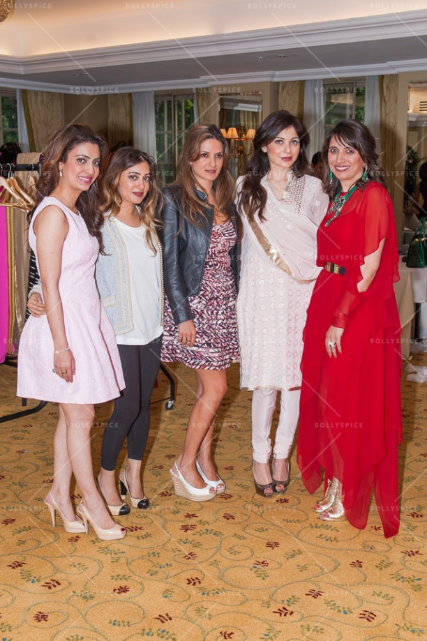 14jul KanikaTrunkShow01 612x919 Kanika Kapoor hosts an exclusive Trunk Show