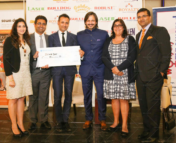 Reena Ranger Manoj Ladwa Arup Ganguly Vivek Oberoi Gurinder Chadha OBE Vikas Pota 'Women Empowered In Support Of Sewa Day' In Conversation With Vivek Oberoi