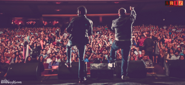 VS onstage Vishal, Shekhar and Neeti Mohan get fans in New Jersey, on their feet!