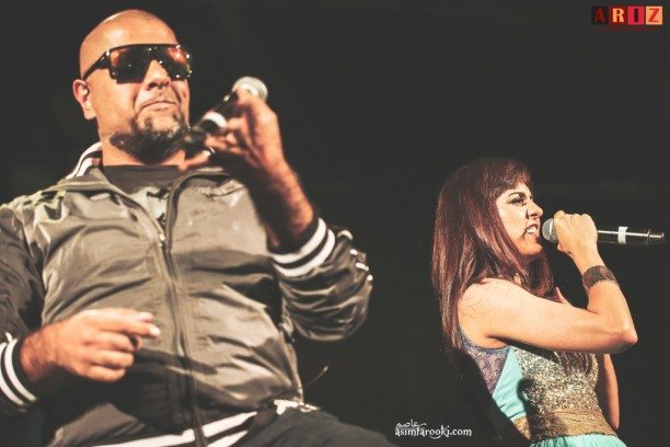 Vishal and Neeti 612x408 Vishal, Shekhar and Neeti Mohan get fans in New Jersey, on their feet!