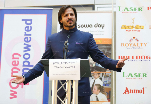 Vivek Oberoi 'Women Empowered In Support Of Sewa Day' In Conversation With Vivek Oberoi