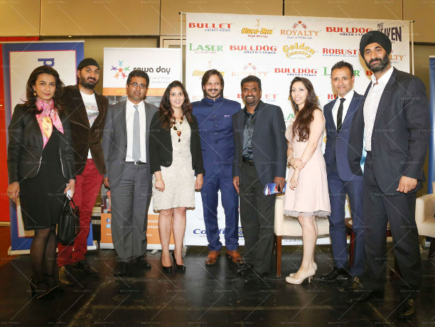 Yalda Hakim Monty Panesar Manoj Ladwa Reena Ranger Vivek Oberoi Muttiahtiah Muralitharan Natasha Mudhar Arup Ganguly Harmeet Ahuja 'Women Empowered In Support Of Sewa Day' In Conversation With Vivek Oberoi