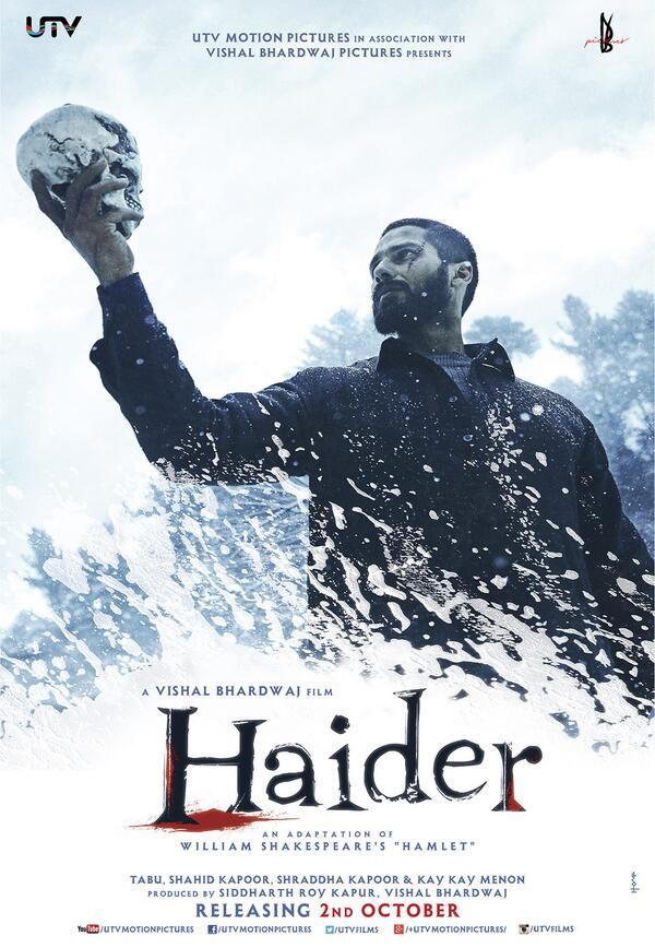 haider First Look: Shahid Kapoor in the powerful posters of Haider
