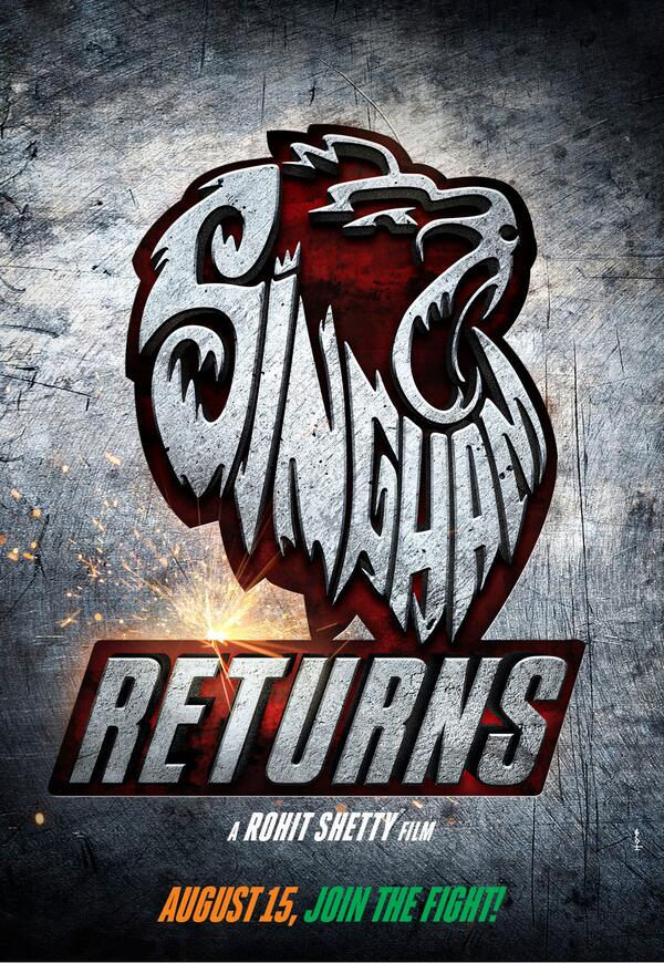 singhamreturnsposter Sneak Peek: Singham Returns Posters not 1 but 6!
