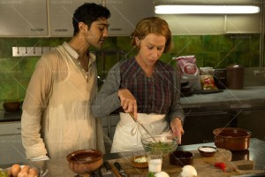 (L-R) Manish Dayal & Helen Mirren