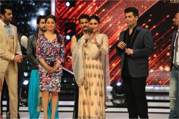 14aug JDJ7 Gurushetra11 612x406 Jhalak Dikhhla Jaa 7: Akshay Kumar, Kareena Kapoor & Gurukshetra!