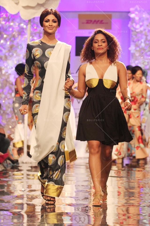 Masaba Gupta Opens Lakme Fashion Week Winter Festive 2014