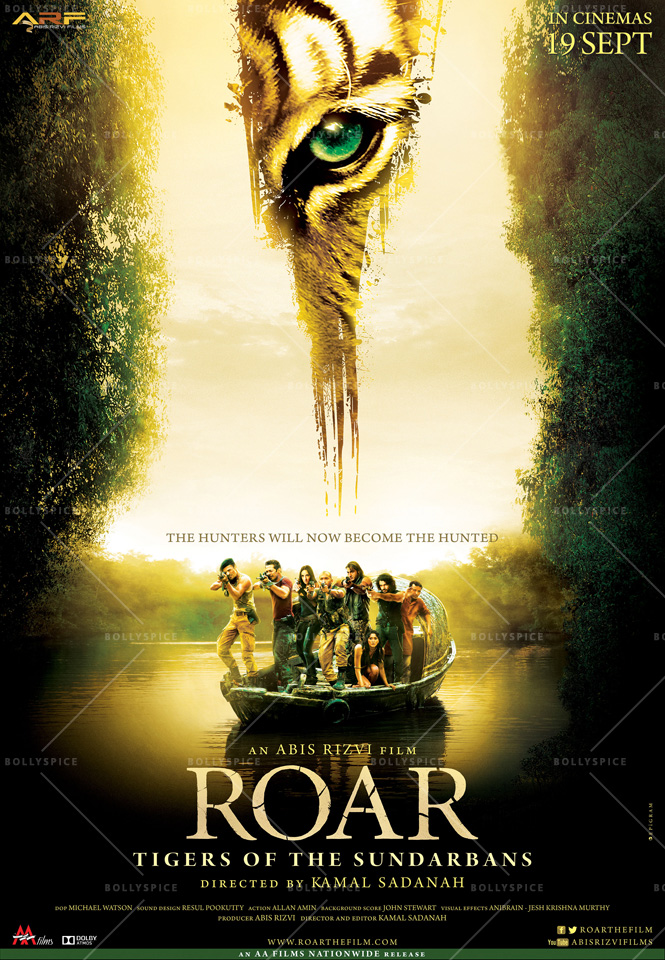 14aug Roar Poster01 Salman Khan unveils the trailer of Roar: Tigers Of The Sundarbans