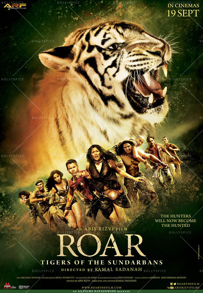 14aug Roar Poster02 Salman Khan unveils the trailer of Roar: Tigers Of The Sundarbans